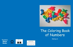 The coloring book of numbers - Edition 2 - Full cover