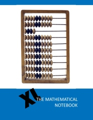 The mathematical notebook XL - Front cover
