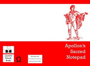 Apollon's sacred notepad - Edition 1 - Full cover