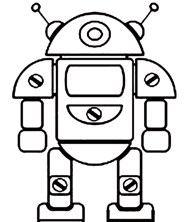 Smart robots coloring book - Edition 1 - web 1