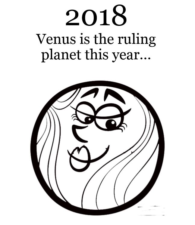 2018 Planets Calendar & Organizer - Book interior 5