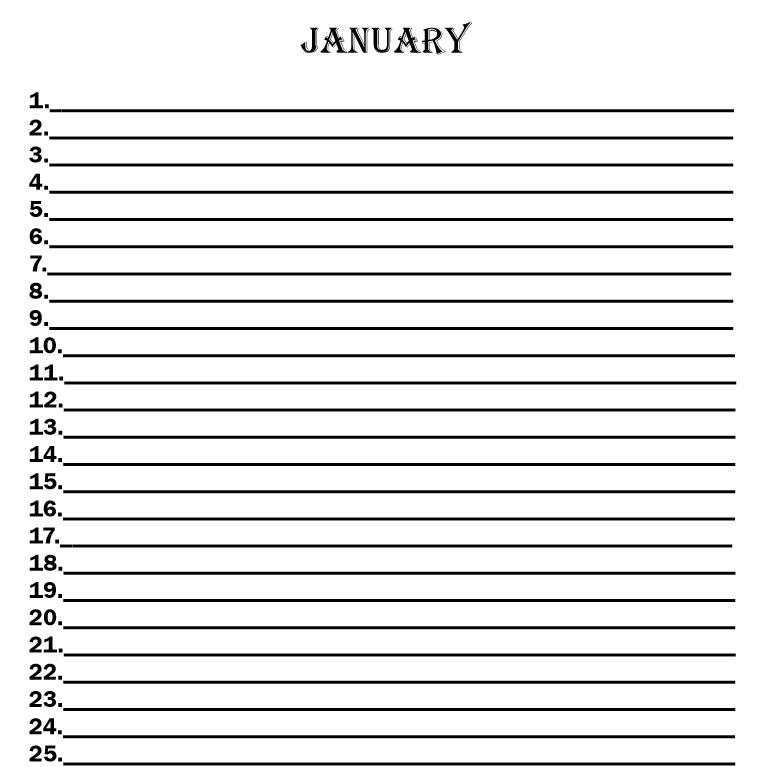 Egyptian Gods Calendar 2018 - Book interior 5