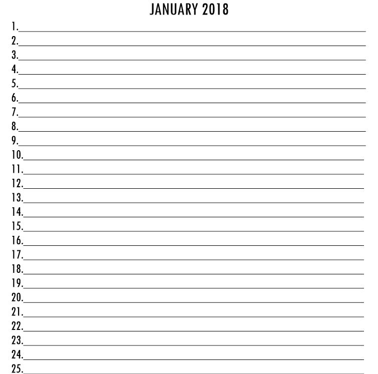 Olympian Gods Calendar 2018 - Book interior 5