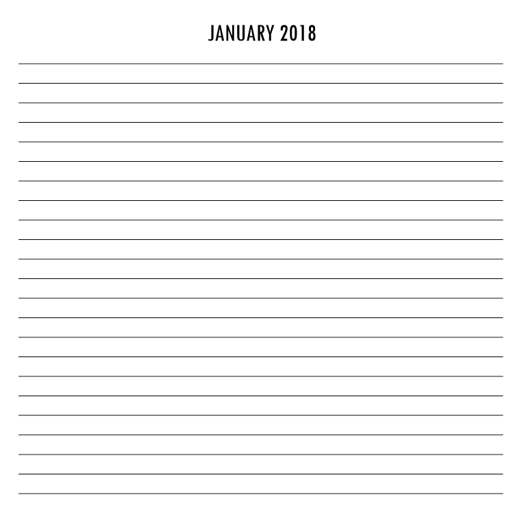 Olympian Gods Calendar 2018 - Book interior 6