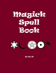 Magick Spell Book - Front cover