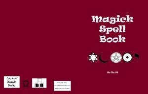 Magick Spell Book - Full cover