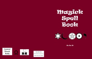 Magick Spell Book - Full cover
