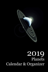 2019 Planets Calendar & Organizer - Front cover