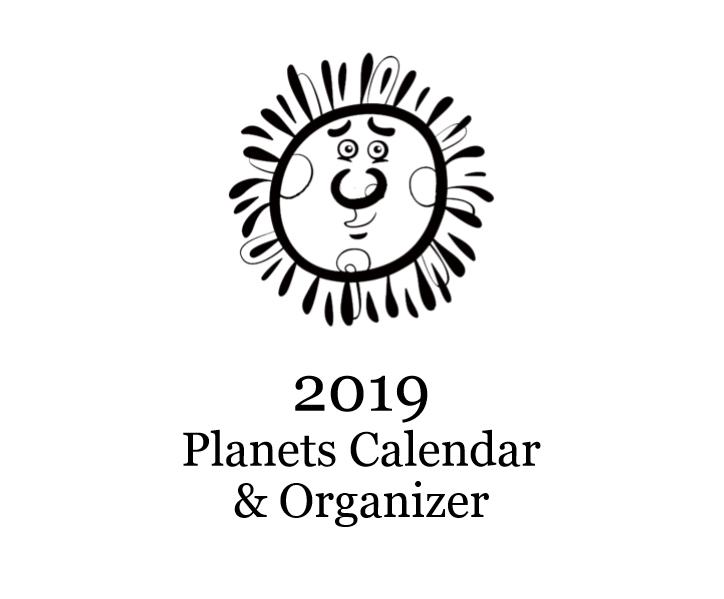 2019 Planets Calendar & Organizer - Book interior 1