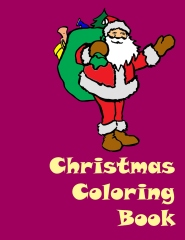 Christmas Coloring Book - Edition 1 - Front cover