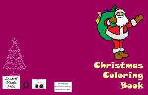 Christmas Coloring Book - Full cover