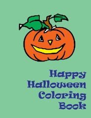 Happy Halloween Coloring Book - Edition 1 - By Lazaros' Blank Books