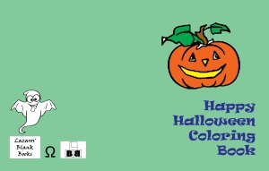 Happy Halloween Coloring Book - Edition 1 - Full cover