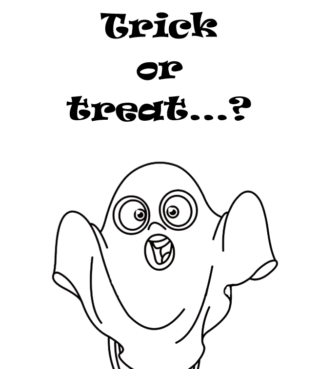 Happy Halloween coloring book - interior - 4