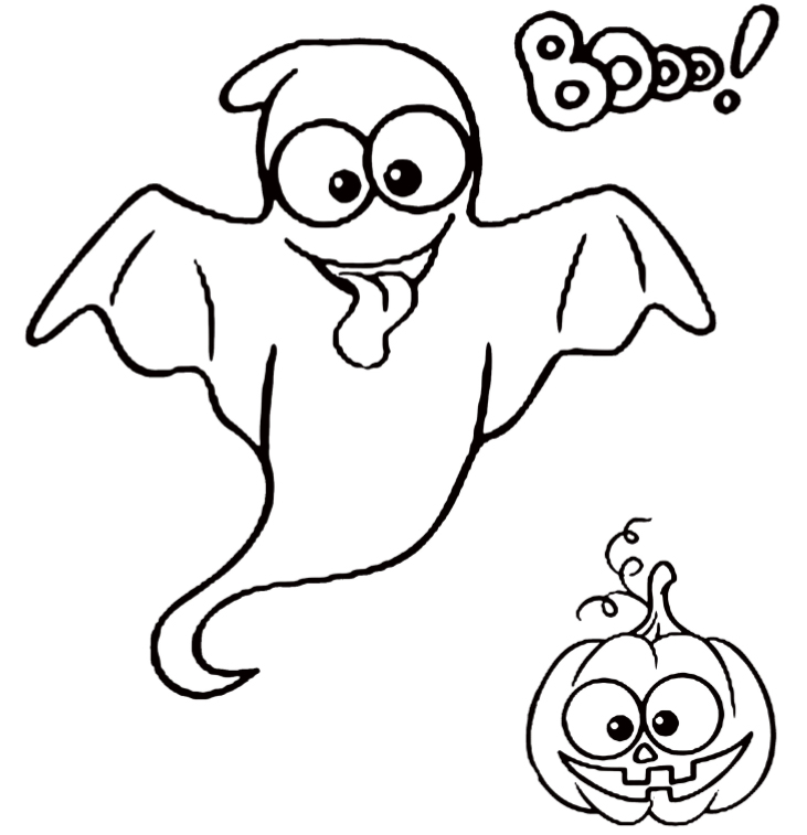 Happy Halloween coloring book - interior - 5