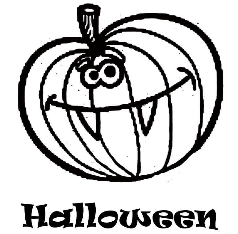 Happy Halloween coloring book - interior - 7