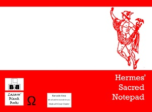Hermes' Sacred Notepad - Full cover