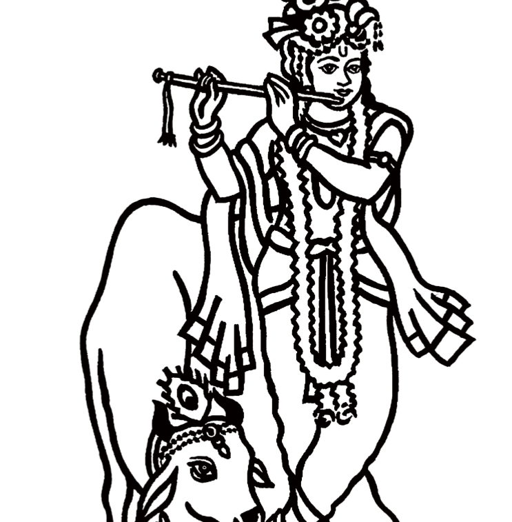 Hindu Gods Coloring Book - Book Interior - 4