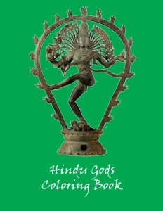 Hindu Gods Coloring Book - Edition 1