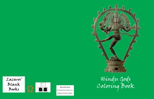 Hindu Gods Coloring Book - Full cover