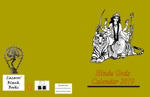 Hindu Gods Calendar 2019 - Full Cover