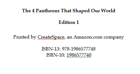 The 4 Pantheons That Shaped Our World - Book Interior 2