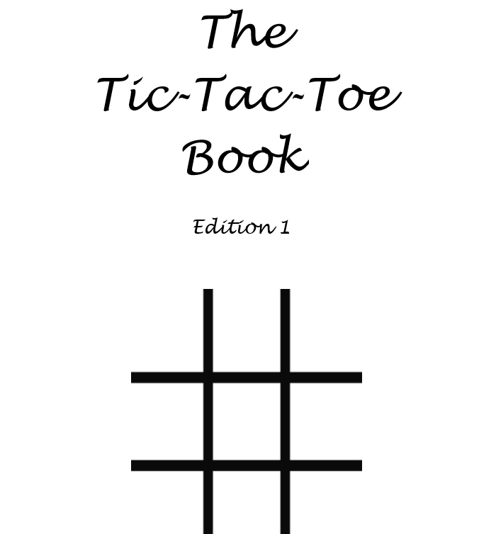 The Tic-Tac-Toe Book - Interior - 1