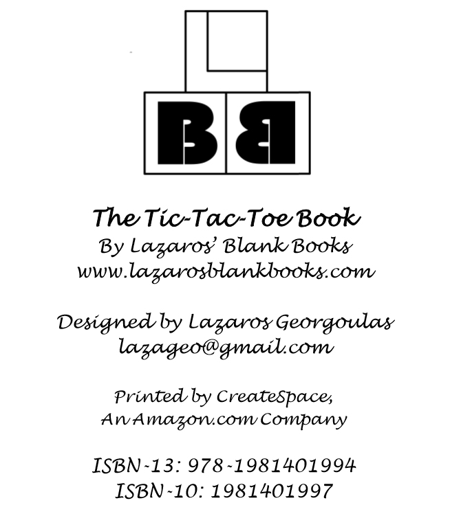 The Tic-Tac-Toe Book - Interior - 2