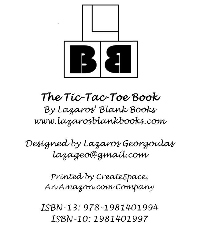 The Tic-Tac-Toe Book - Interior - 2
