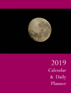 2019 Calendar & Daily Planner - Front Cover