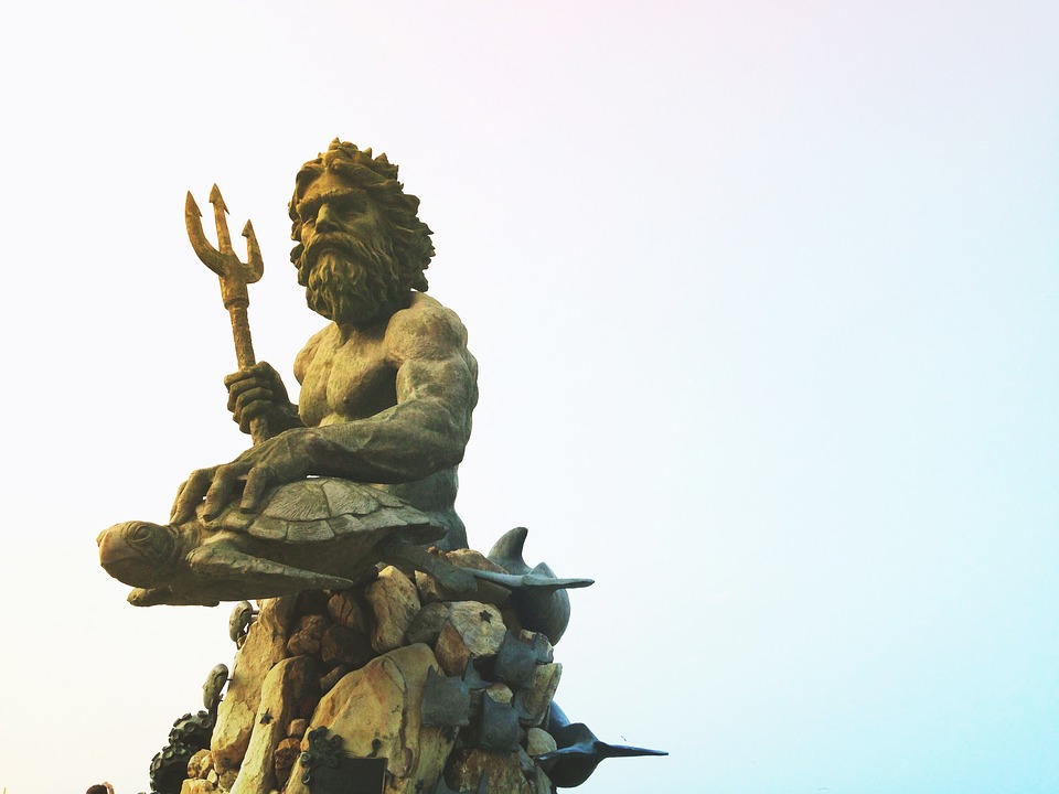 Olympian Gods Calendar2019