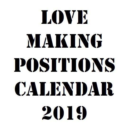 Love Making Positions Calendar 2019 - Book sample 5