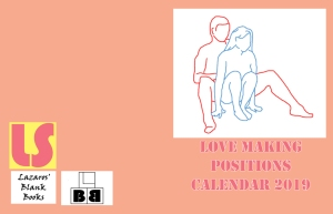 Love Making Positions Calendar 2019 - Full Cover