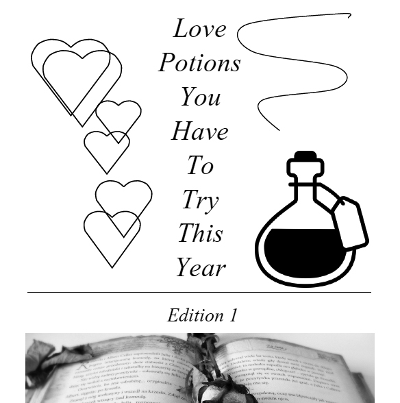 Love Potions Book Cover - 1