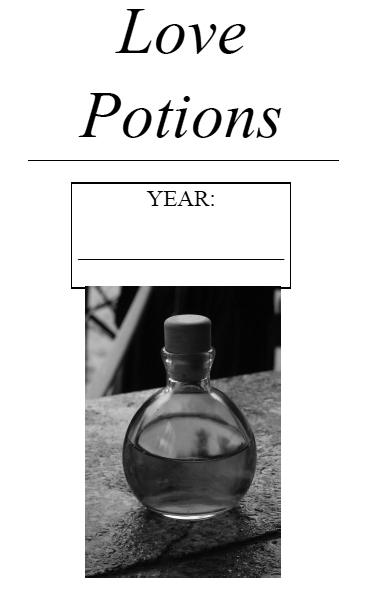 Love Potions Book Cover - 3