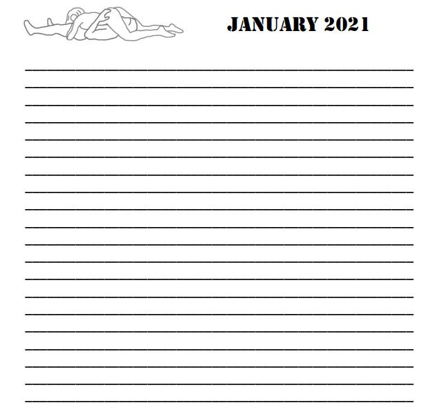 2021 Love Making Positions Calendar - 7