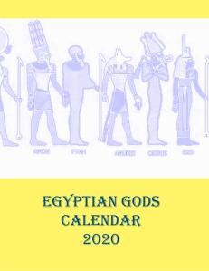 Egyptian Gods Calendar 2020 - Book Cover