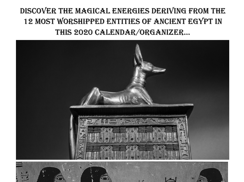 Egyptian Gods Calendar 2021 - Book Interior 3
