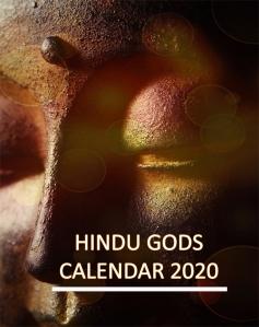 Hindu Gods Calendar 2020 - Book Cover