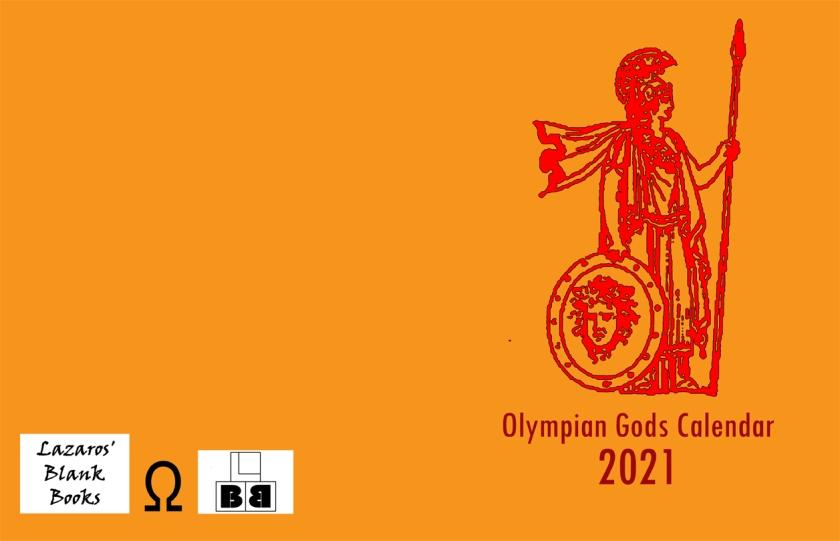 Olympian Gods Calendar 2020 - Full Cover