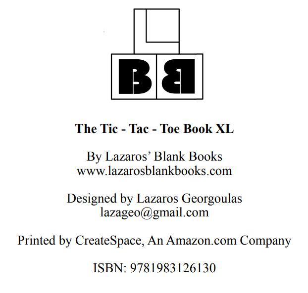 The Tic-Tac-Toe Book XL - Interior - 4