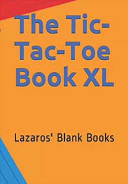 The Tic-Tac-Toe Book XL - Front Cover