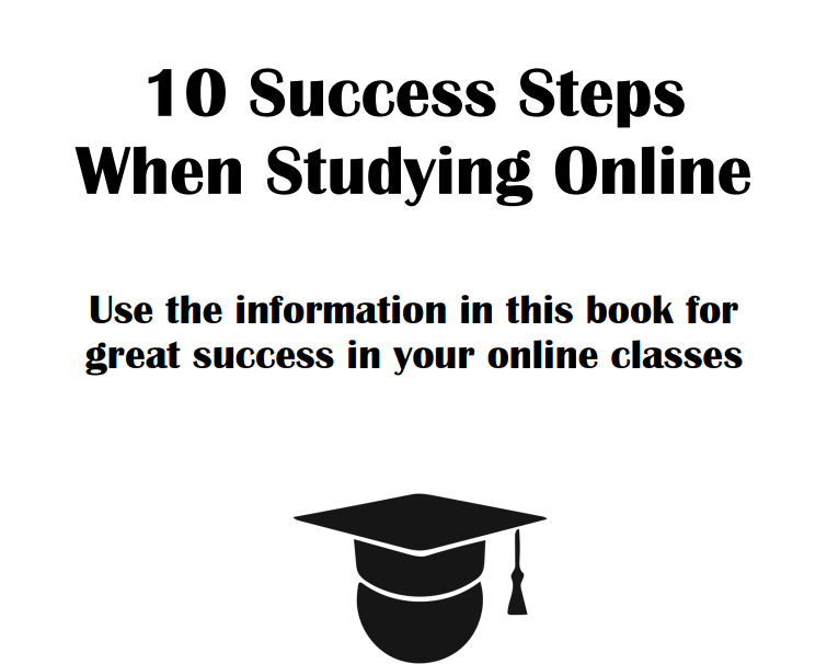 10 Success Steps When Studying Online - Book Interior - 1