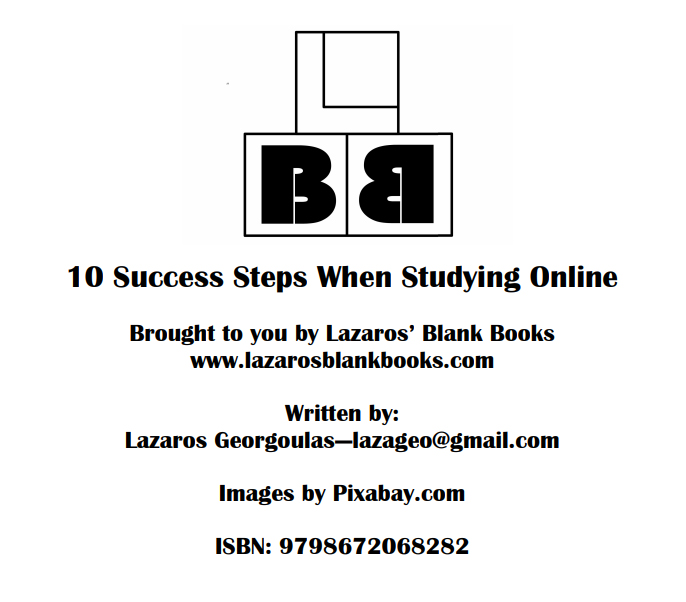 10 Success Steps When Studying Online - Book Interior - 2