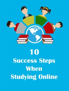 10 Success Steps When Studying Online - Front Cover