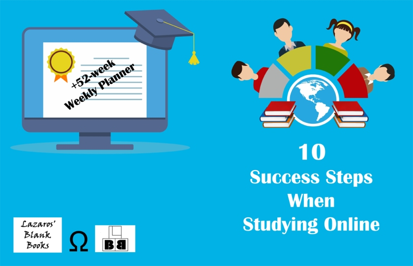10 Success Steps When Studying Online - Full Cover