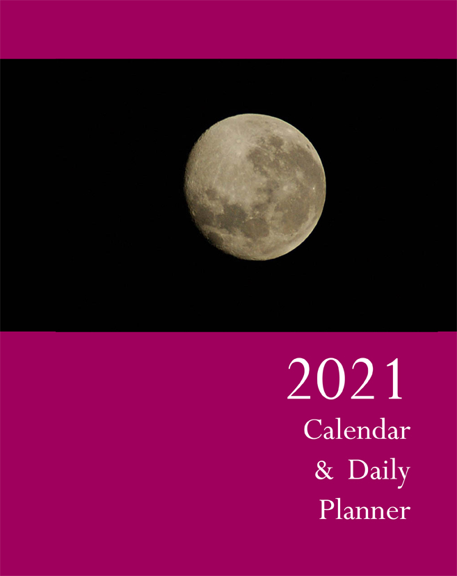 2021 Calendar & Daily Planner - Front Cover