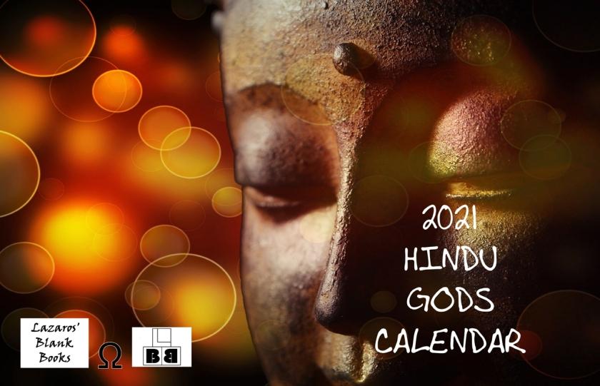 2021 Hindu Gods Calendar Full Cover