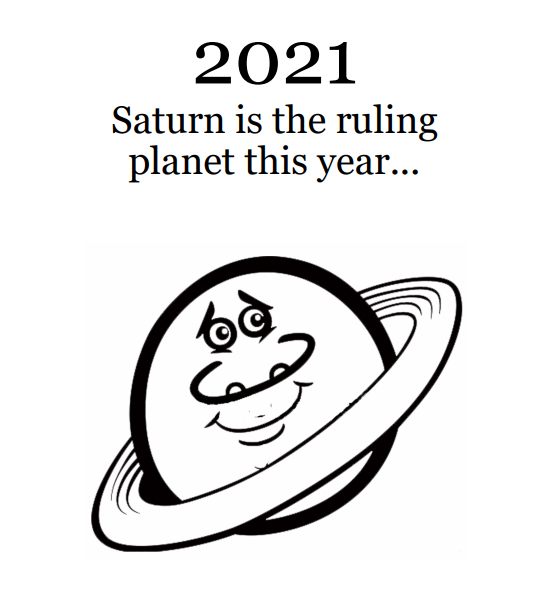 2021 Planets Calendar & Organizer/Planner - Book Interior - 4