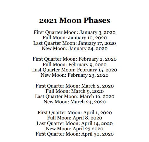 2021 Planets Calendar & Organizer/Planner - Book Interior - 6